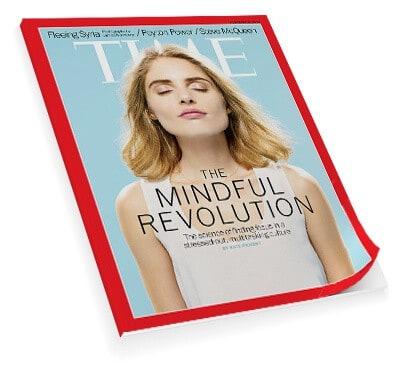 Artículo Mindfulness en la revista Time