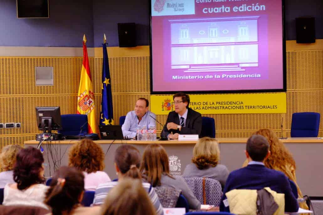 IV Edición Curso Mindfulness en Ministerio de la Presidencia Gobierno de España