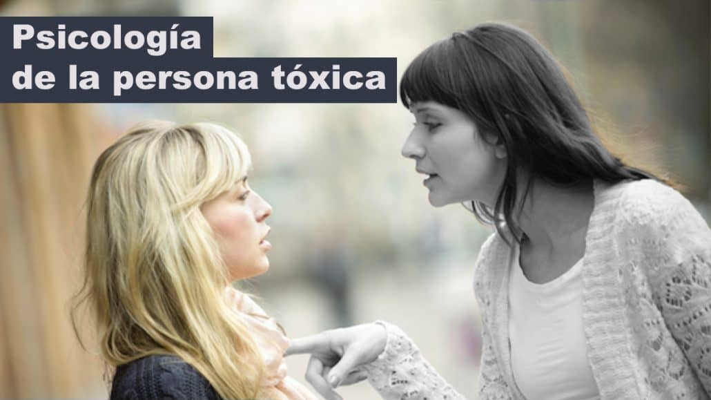 psicología de la persona tóxica
