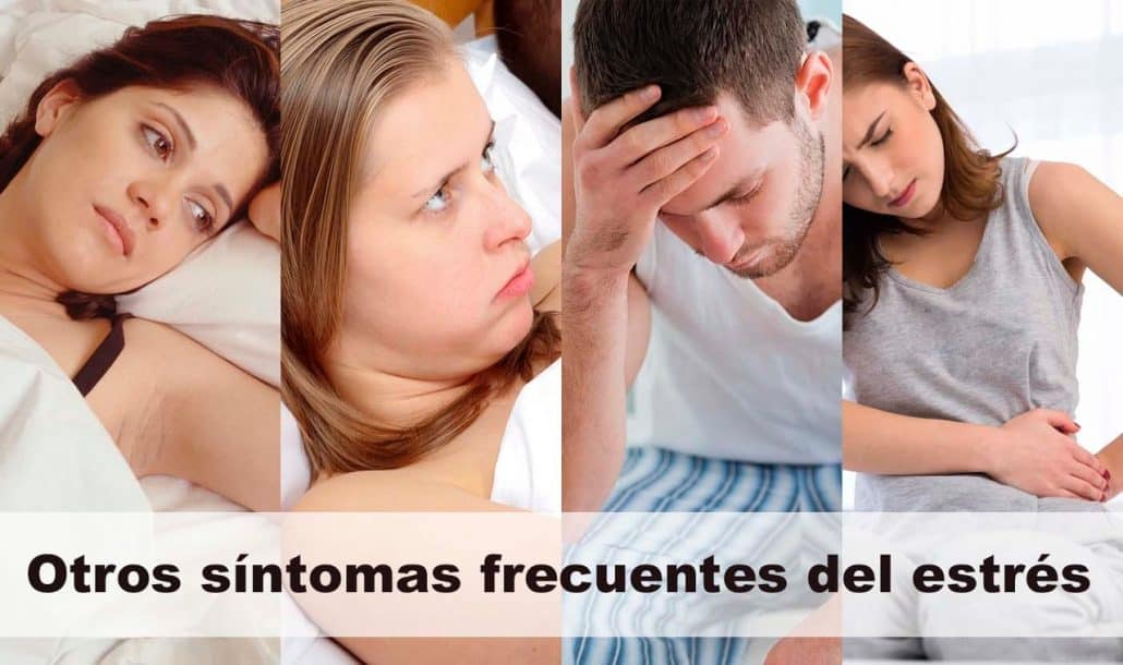 otros sintomas frecuentes del estres