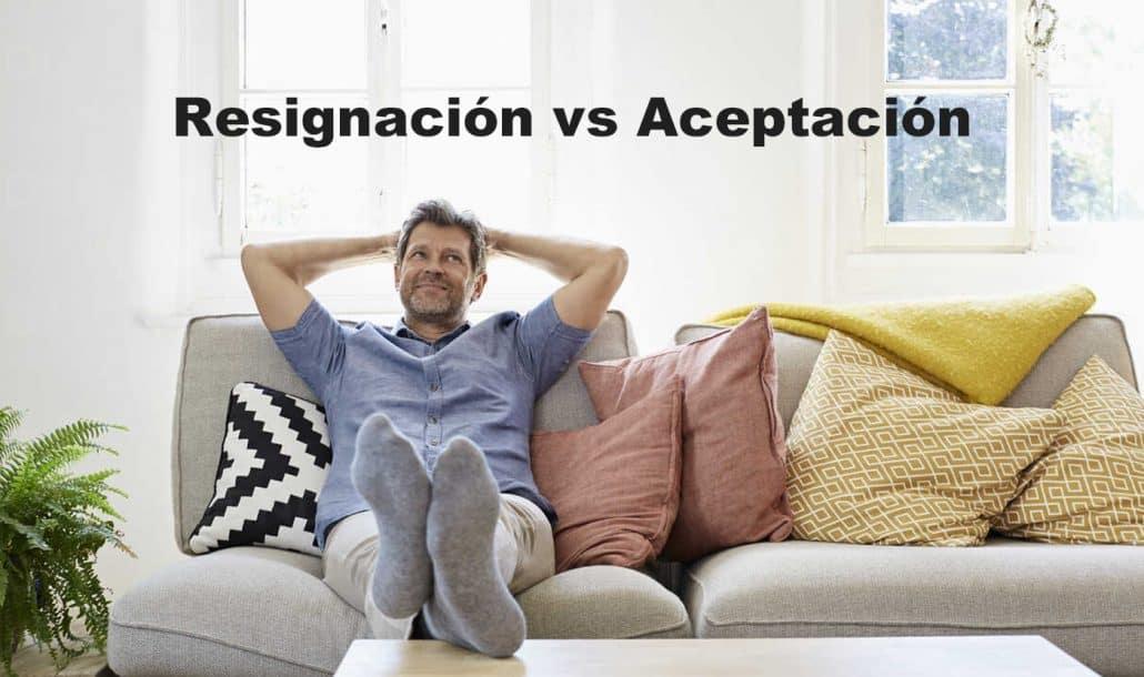 resignación vs. aceptación